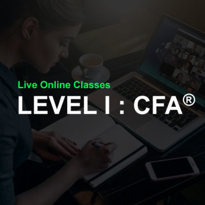 CFA level 1 online classes in india