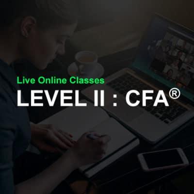 CFA level 2 online class