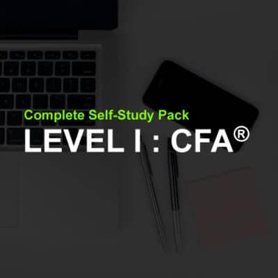 CFA level 1 study pack