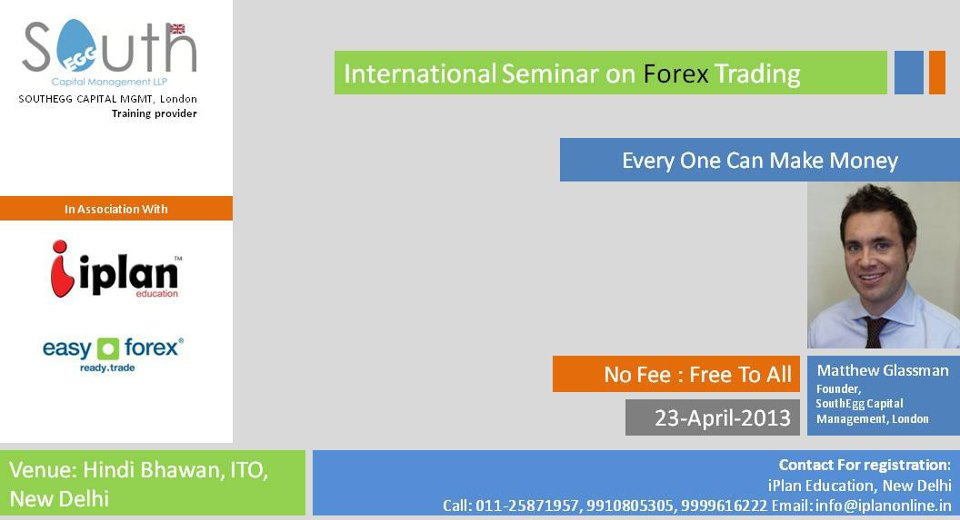 International seminar on forex trading