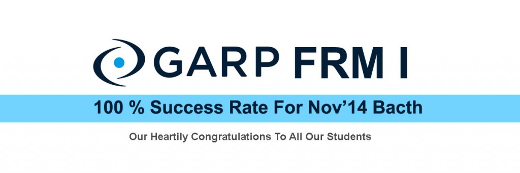 heighest GARP FRM passing rate