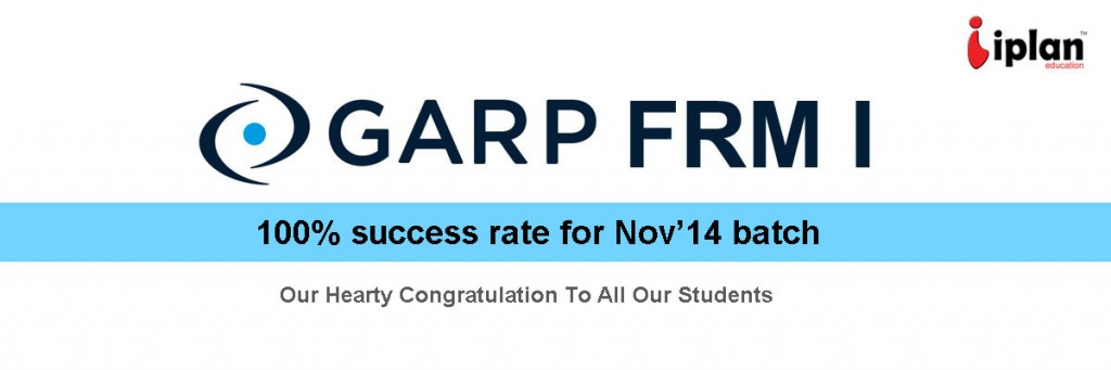 GARP FRM Passing rate